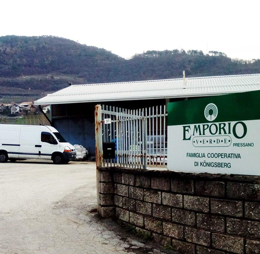 Emporio Verde: filiale di Pressano